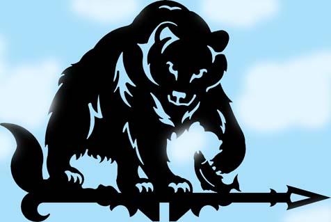 Медведь флюгер