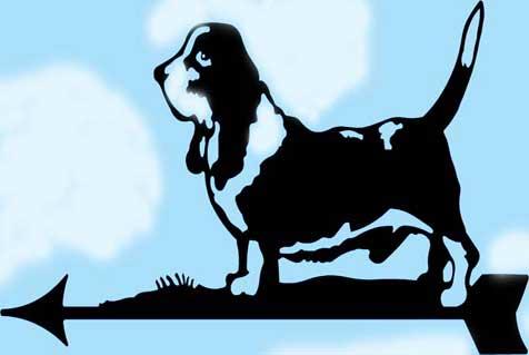 Собака на флюгере